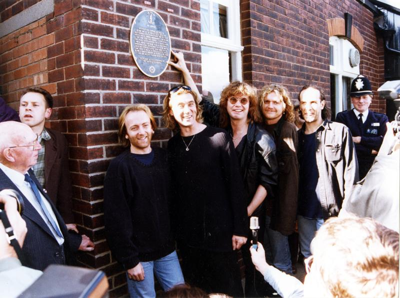 Photo of Def Leppard in Crookes.