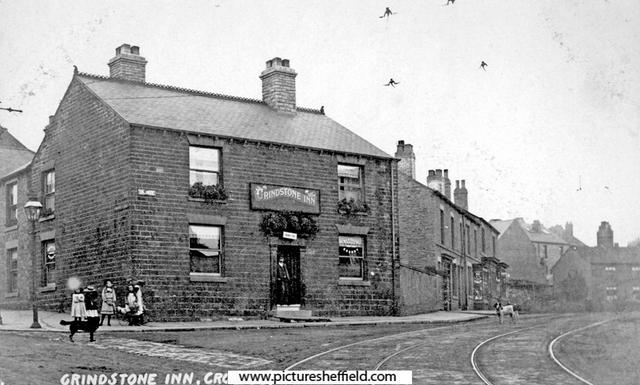 Photo of The Old Grindstone (Pictures Sheffield, 1900-19).