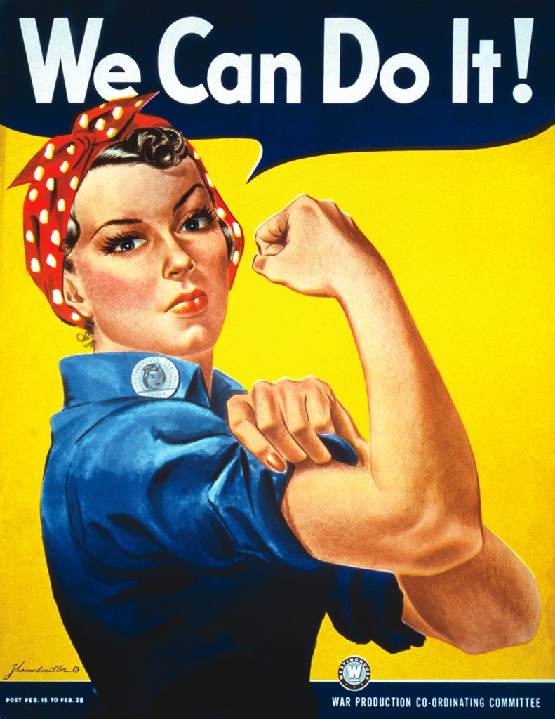 We Can Do It! WW2 poster.