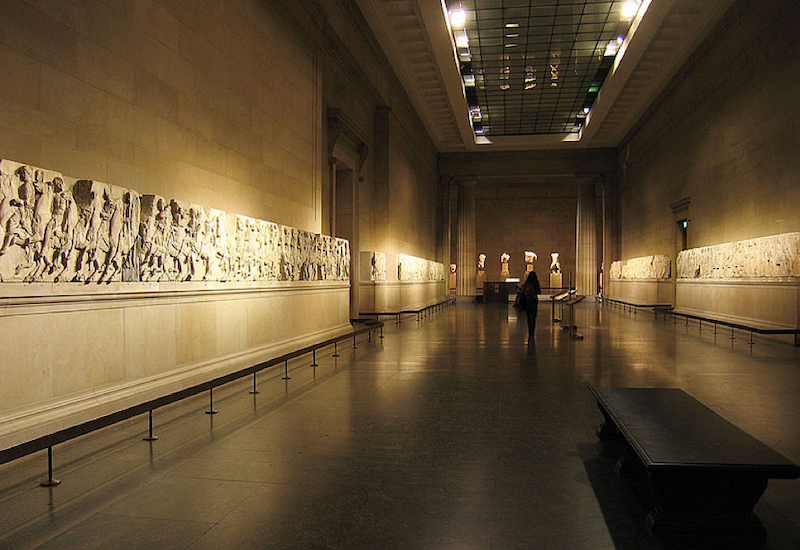 Elgin Marbles at the British Marbles.
