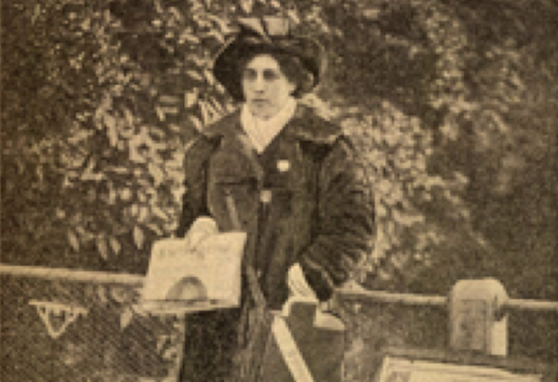 Photo of Sophia Duleep Singh.